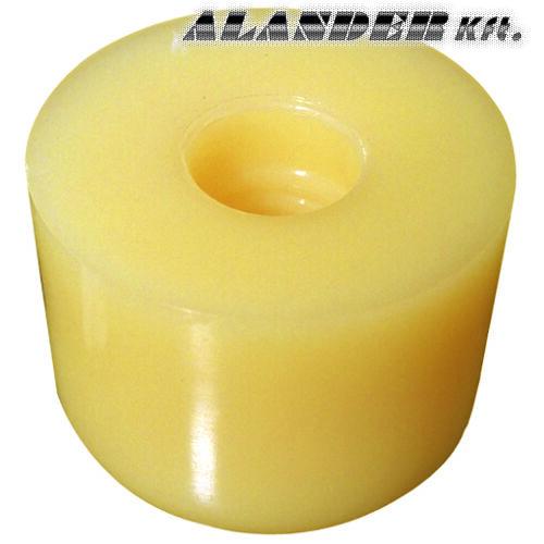 Műanyag kalapácsfej fehér, Desmopanból 30mm