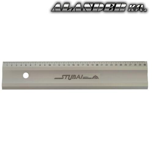 Alumínium vonalzó méretezve, 300mm