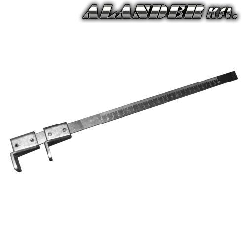 Lécező távolságtartó (módla)  sablon 400mm