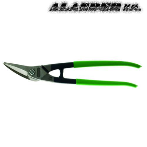 Kombinált lemezolló jobbos Zöld PVC nyéllel