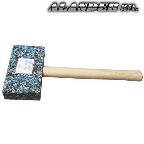 Bádogos műanyag kalapács tarka Szögletes